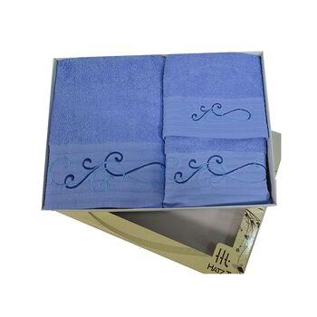 Σετ πετσέτες 3 ΤΜΧ Μπλε